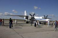 Транспортный Ан-26 до сих пор используется в качестве выпускного
