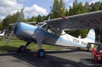 Як-12М лишь недавно занял свое место около входа в музей