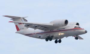Для продолжения аварийно-восстановительные в Охотский район прибыл самолет Ан-74 МЧС России (МЧС)