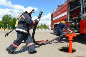 В Шереметьево прошли крупные пожарно-тактические учения (Международный аэропорт