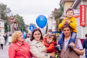Нордавиа поздравила столицу Поморья с Днем города (АК