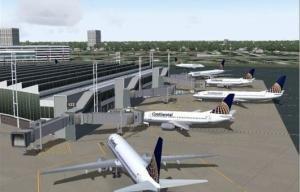 Половину акций недостроенного аэропорта