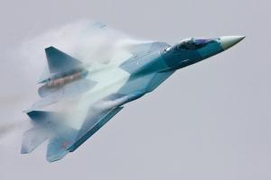 В сети опубликовано видео испытаний пушки для истребителя Т-50 (РИА