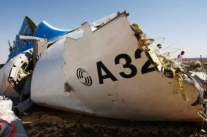 Следователи установили место взрыва на борту упавшего на Синае A321 (РИА