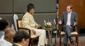 Денис Мантуров провел переговоры о расширении сотрудничества с индийским штатом Андхра-Прадеш (Минпромторг)