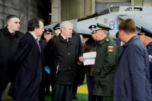 Юрий Борисов посетил с рабочей поездкой авиазавод