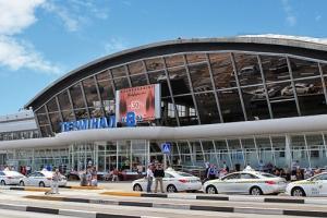 Киевский аэропорт открыл пункт обмена смартфонов Samsung Galaxy Note 7 (РИА