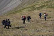 Спасатели доставят в Кызыл для идентификации останки погибших при крушении Ми-8 в Туве