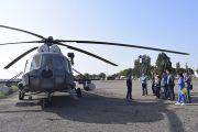 Представители Свердловской области посетили российскую авиабазу Кант в Киргизской Республике