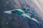 Экипажи истребителей Су-34, поступивших на вооружение челябинских летчиков в этом году, впервые отработали дозаправку в воздухе