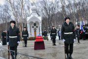 На мемориальном кладбище Североморска захоронили летчиков, погибших в годы Великой Отечественной войны