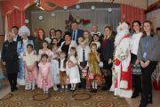 Коллектив Национального аэропорта Минск поздравил детей с новогодними праздниками