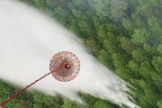 СМИ: семь самолетов и девять вертолетов тушат лесной пожар на греческом острове Эвбея
