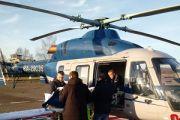 Мужчина с острым коронарным синдромом эвакуирован вертолетом санавиации с Великих Лук в областной центр