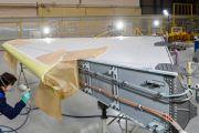 """Предприятие """"Авиастар-СП"""" изготовило киль для первого самолёта МС-21-300 с двигателями ПД-14"""