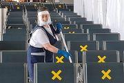 Аэропорт в кольце противовирусной обороны