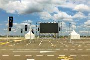 В аэропорту Симферополь впервые откроется автокинотеатр на 200 машин для кинофестиваля