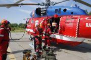 Спасатели Московского авиационного центра осваивают новую технику