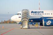 """Авиакомпания """"Аврора"""" перевезла более 610 тысяч пассажиров за девять месяцев 2020 года"""