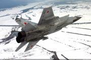 """Захват """"противника"""" и пуски ракет: истребители МиГ-31БМ провели учебный бой в Пермском крае"""