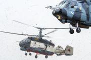 Новый поисково-спасательный вертолет Ка-27ПС поступил в авиационный полк ЮВО на Кубани