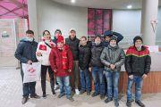 На футбол с воспитанниками Кольчугинского детского дома