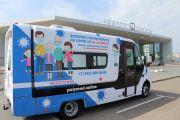 В аэропорту Нижнего Новгорода имени В.П. Чкалова появился мобильный пункт экспресс-тестирования на коронавирус