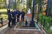 В Калужской области военнослужащие дальней авиации почтили память жертв фашизма