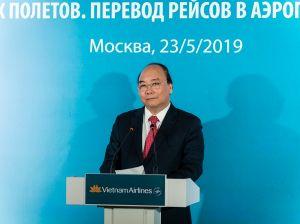 Премьер-министр Вьетнама официально объявил о переводе рейсов Vietnam Airlines в Шереметьево