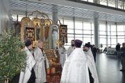 В аэропорту Большое Савино состоялось освящение часовни