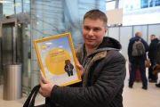 В международном аэропорту Хабаровск встретили двухмиллионного пассажира с начала 2019 года