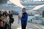 """В международном аэропорту Хабаровск открылась выставка, посвященная экспедиции """"По следам адмирала Невельского"""""""